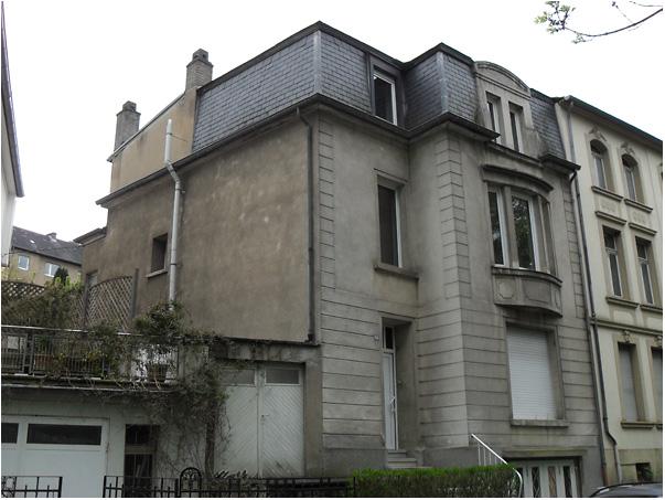 Transformation d une maison luxembourg ville romain for Architecte transformation maison