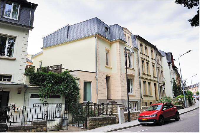 Transformation d une maison luxembourg ville romain for Architecte luxembourg